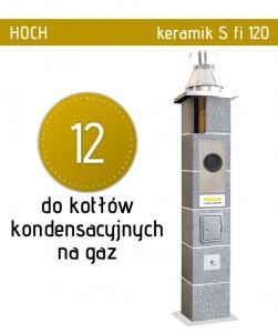 Hoch Turbo Keramik fi 12 do kotłów na gaz