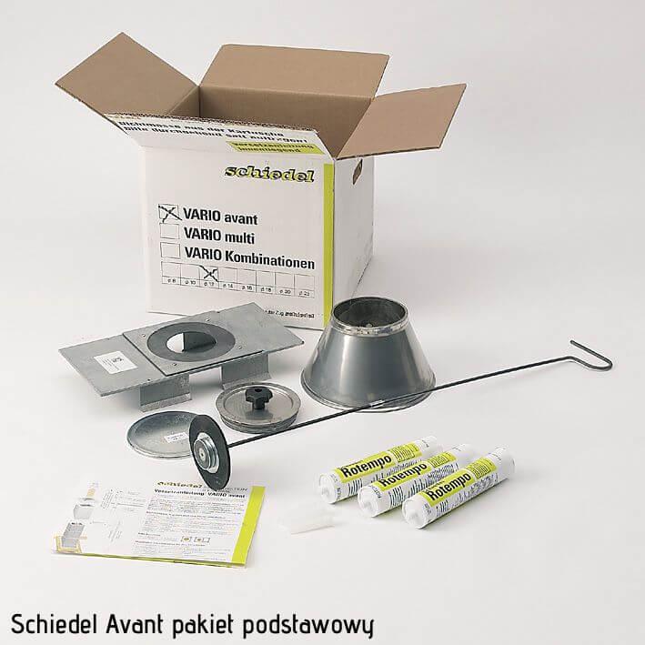 elementy komina Avant 14 pakiet podstawowy Avant