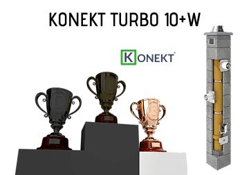 Najlepszy komin do gazu Konekt Turbo fi 100