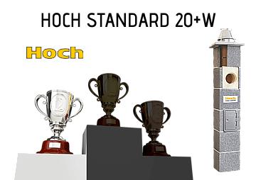 Najlepszy komin do kominka Hoch Standard 20+W