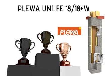 Najlepszy komin do kominka Plewa Uni FE 18