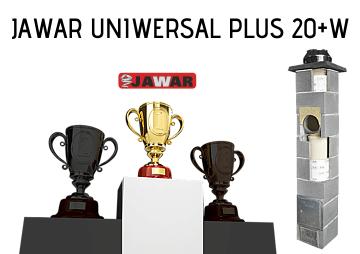 Najlepszy komin do kotła na pellet i ekogroszek Jawar Uniwersal Plus 20+W
