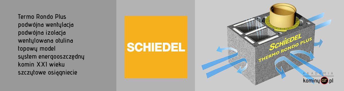Schiedel Thermo Rondo Plus schemat