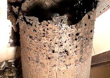 Wkład kominowy stalowy korozja