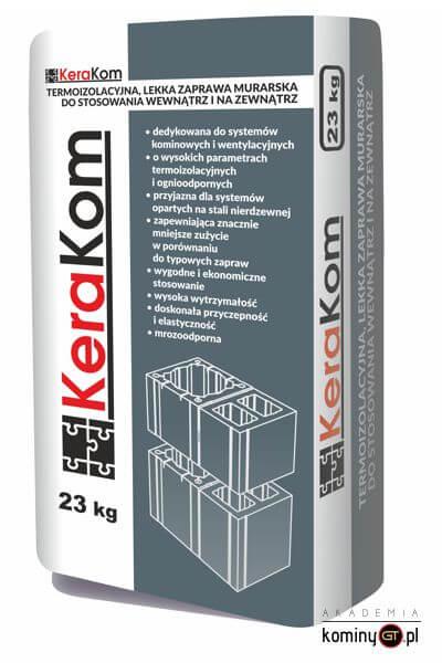 Zaprawa murarska do kominów systemowych KeraKom