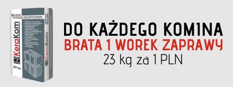 Zaprawa do kominów Brata - KeraKom 23kg