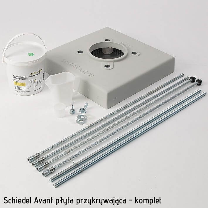Wyposażenie dodatkowe komina Schiedel Avant 14 płyta przykrywająca
