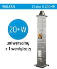 komin Wulkan Ci Eko 200+W